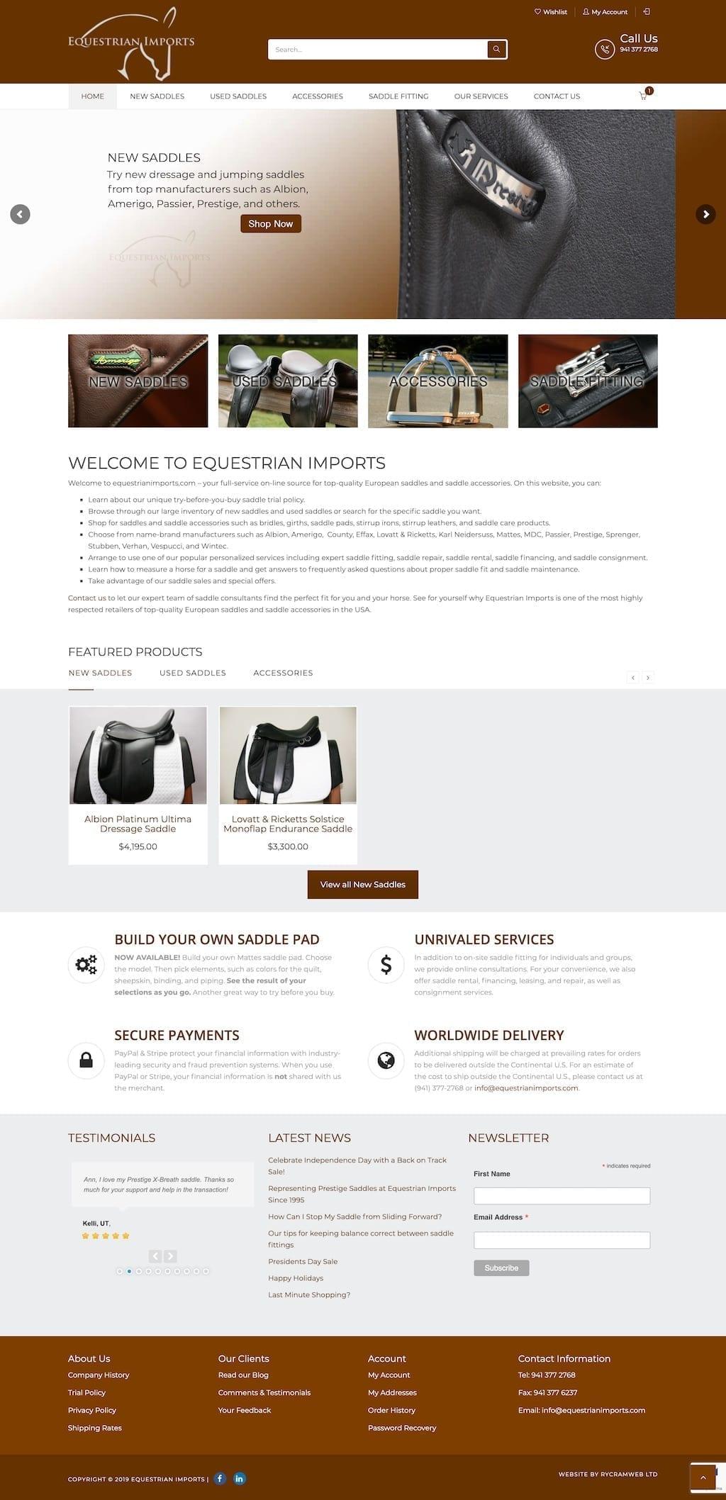 Equestrian Imports 1